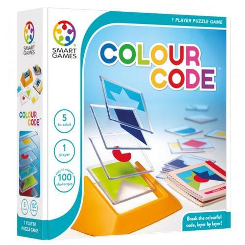 Colour Code Logic Game by Smart Games