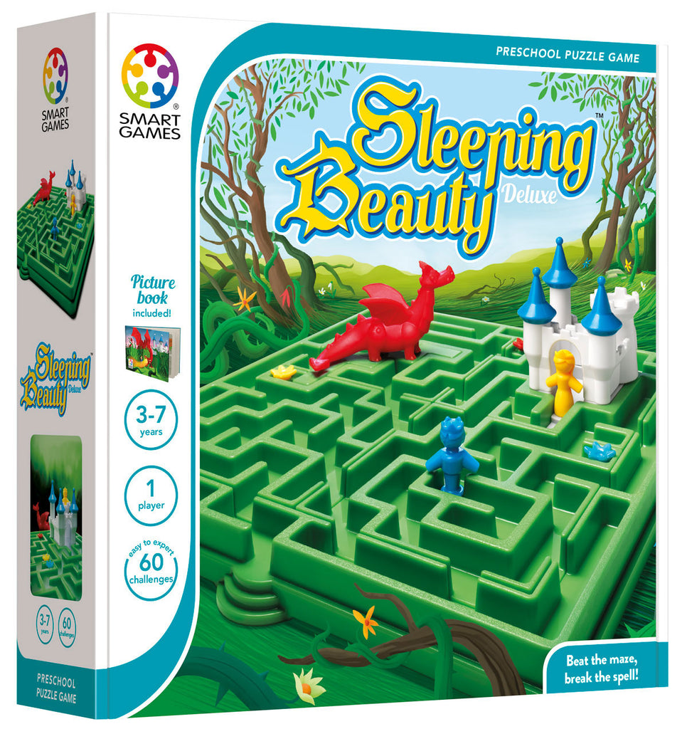 Sleeping Beauty Maze Game - Smart Games - Tiny Paper Co. Afterpay Toy Store Australia