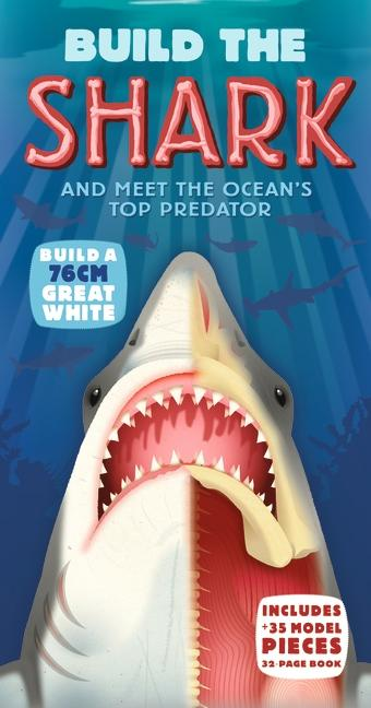 Build The Shark Book and Puzzle - Walker Books - Tiny Paper Co. Afterpay Toy Store Australia