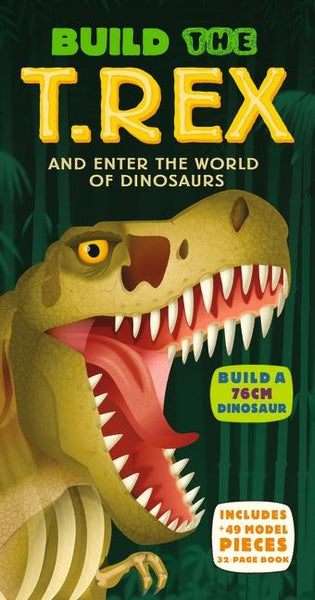 Build the T-Rex Book and Puzzle - Walker Books - Tiny Paper Co. Afterpay Toy Store Australia