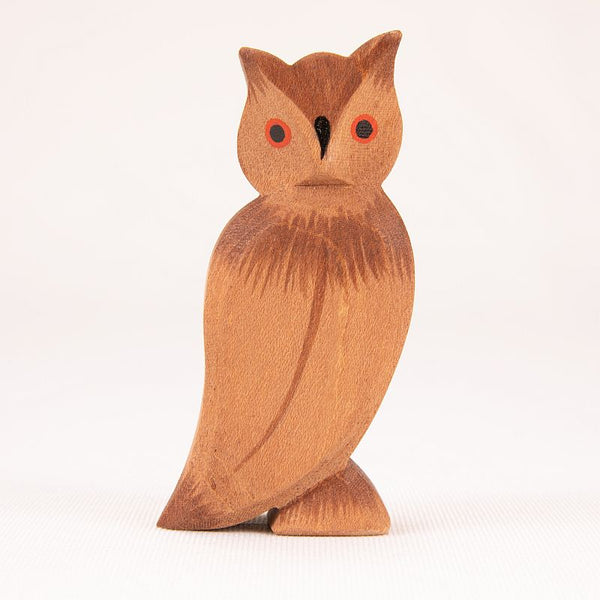 Ostheimer Bird - Owl Figurine - Animals of Forest & Meadow - Ostheimer - Tiny Paper Co. Afterpay Toy Store Australia