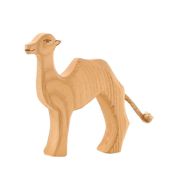 Ostheimer Camel Figurine - Wild Animals Around the World - Ostheimer - Tiny Paper Co. Afterpay Toy Store Australia
