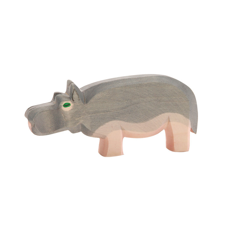 Ostheimer Hippopotamus Figurine - Wild Animals Around the World - Ostheimer - Tiny Paper Co. Afterpay Toy Store Australia