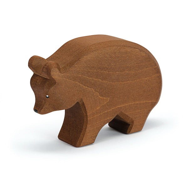 Ostheimer Bear Figurine - Wild Animals Around the World - Ostheimer - Tiny Paper Co. Afterpay Toy Store Australia