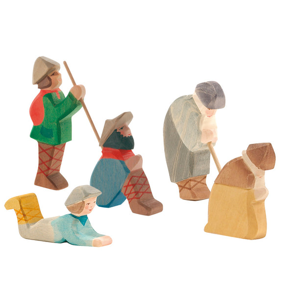 Ostheimer Shepherd - Nativity Scenes - Ostheimer - Tiny Paper Co. Afterpay Toy Store Australia