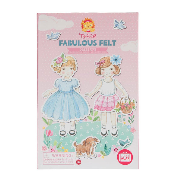 Fabulous Felt Dress Ups Activity Set - Tiger Tribe - Tiny Paper Co. Afterpay Toy Store Australia