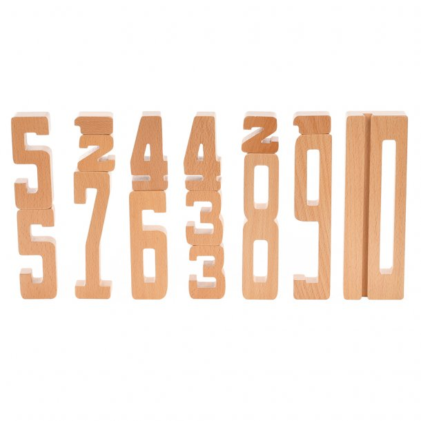 Wooden Numbers 1-10 - Ashtrup - Tiny Paper Co. Afterpay Toy Store Australia