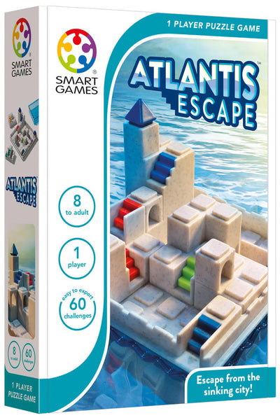 Atlantis Escape - Smart Games - Tiny Paper Co. Afterpay Toy Store Australia