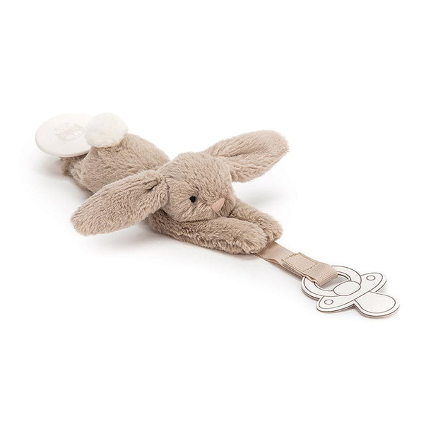 Bashful Bunnies Dummy Holder by Jellycat - Jellycat - Tiny Paper Co. Afterpay Toy Store Australia