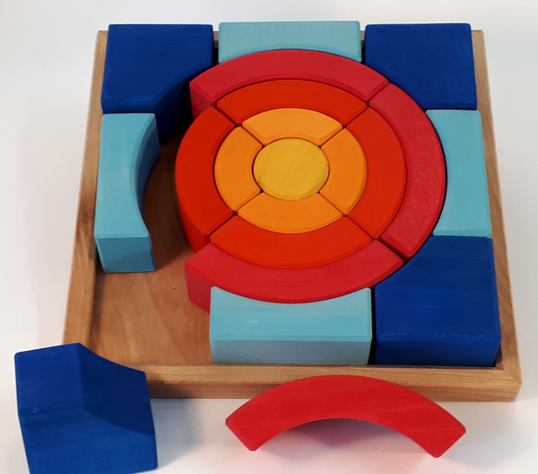Bauspiel Circle Puzzle - Bauspiel - Tiny Paper Co. Afterpay Toy Store Australia