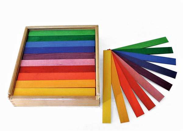 Bauspiel Coloured Rods 100pcs - Bauspiel - Tiny Paper Co. Afterpay Toy Store Australia