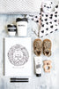 The Monochrome Baby Book - Bluberry - Tiny Paper Co. Afterpay Toy Store Australia