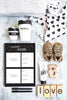 The Monochrome Toddler Book - Blueberry Co. - Tiny Paper Co. Afterpay Toy Store Australia