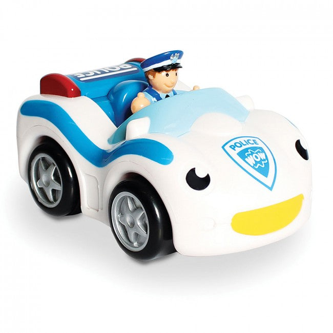Cop Car Cody Battery Free - Wow Toys - Tiny Paper Co. Afterpay Toy Store Australia