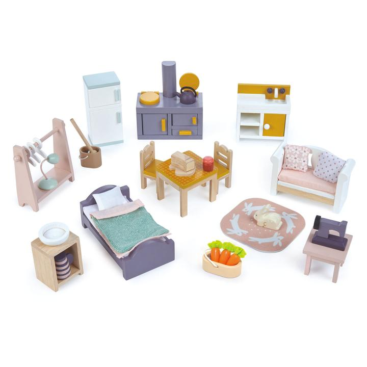 Countryside Furniture Set - Tender Leaf Toys - Tiny Paper Co. Afterpay Toy Store Australia