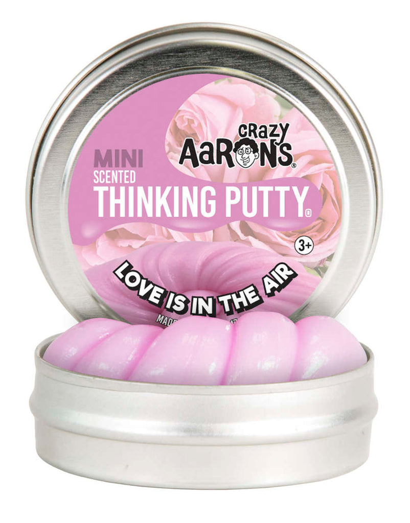 Loves in the Air Thinking Putty 2inch Tin - Crazy Aaron's - Tiny Paper Co. Afterpay Toy Store Australia