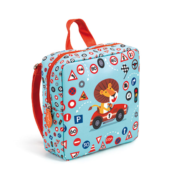 Preschool Back Pack Lion - Djeco - Tiny Paper Co. Afterpay Toy Store Australia