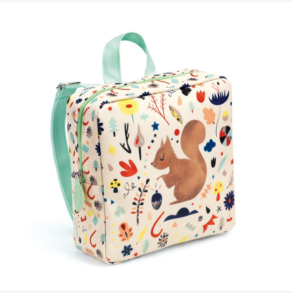 Preschool Back Pack Squirrel - Djeco - Tiny Paper Co. Afterpay Toy Store Australia