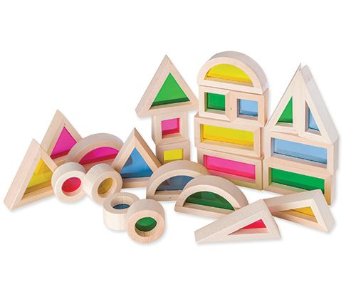 Light and Colour Blocks - Tiny Paper Co. - Tiny Paper Co. Afterpay Toy Store Australia