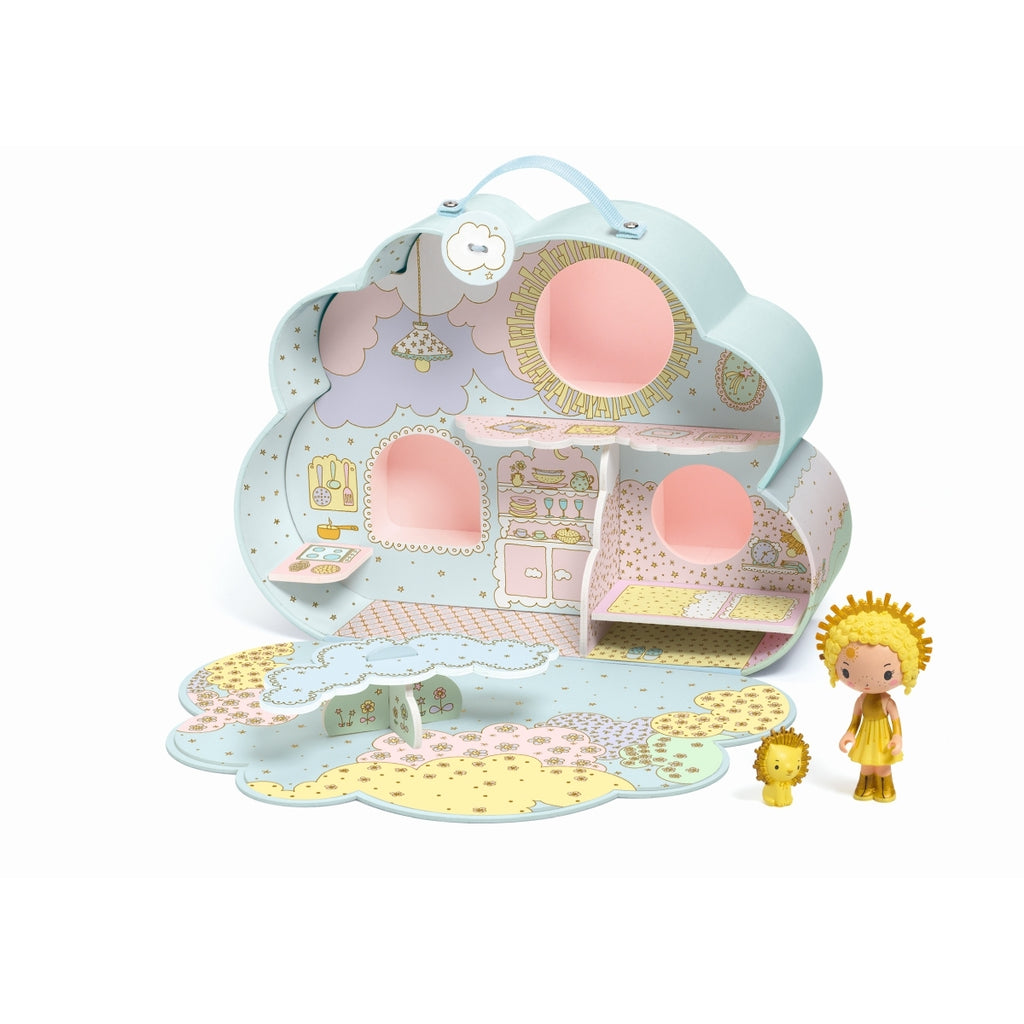 Sunny & Mia House Tinyly - Djeco - Tiny Paper Co. Afterpay Toy Store Australia
