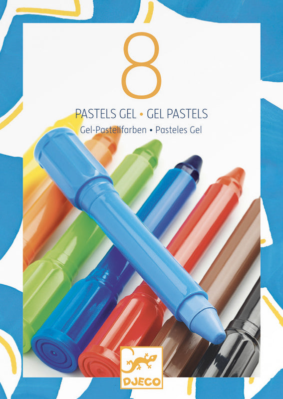 Colour Gel - Classic and Pastel - Djeco - Tiny Paper Co. Afterpay Toy Store Australia