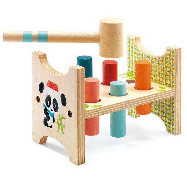 Zunzo Tap Tap Wooden Toys - Djeco - Tiny Paper Co. Afterpay Toy Store Australia
