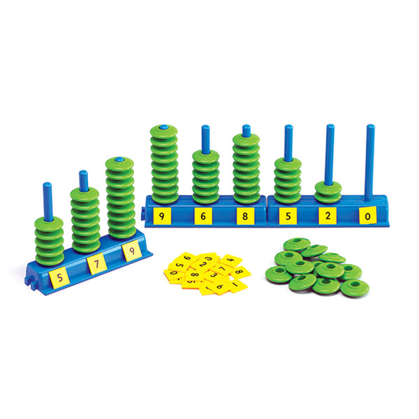 Place Value Abacus - Tiny Paper Co. - Tiny Paper Co. Afterpay Toy Store Australia