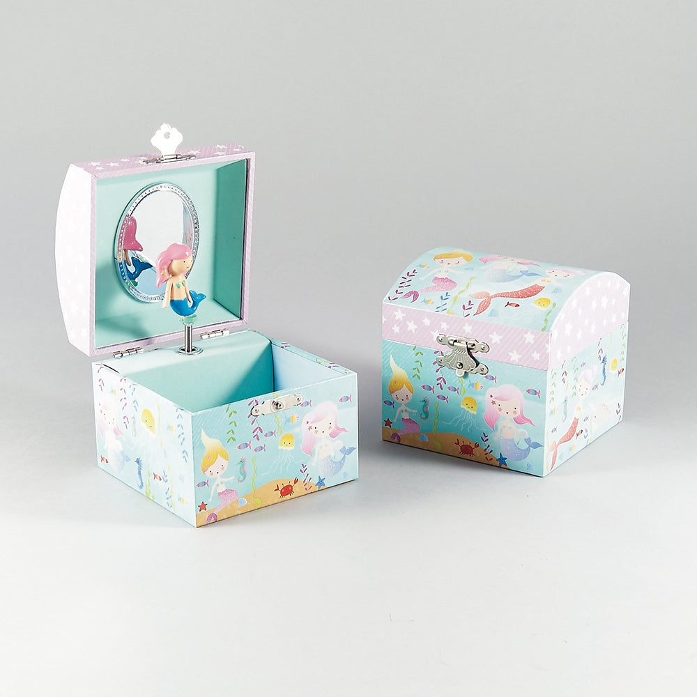 Music Box - Mermaid - Floss and Rocks - Tiny Paper Co. Afterpay Toy Store Australia