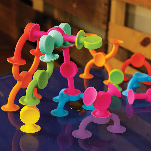 Squigz 2.0 - 36pc set - Fat Brain Toys - Tiny Paper Co. Afterpay Toy Store Australia