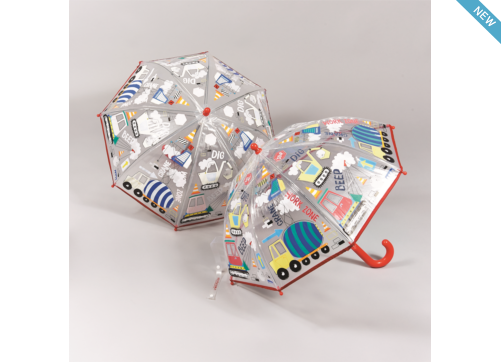 Colour Changing Umbrellas - Floss and Rocks - Tiny Paper Co. Afterpay Toy Store Australia