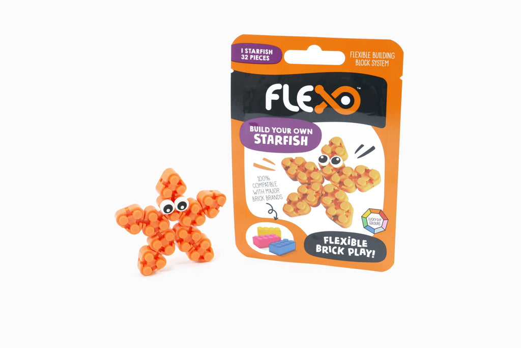 Flexo Star Fish - Flexo - Tiny Paper Co. Afterpay Toy Store Australia