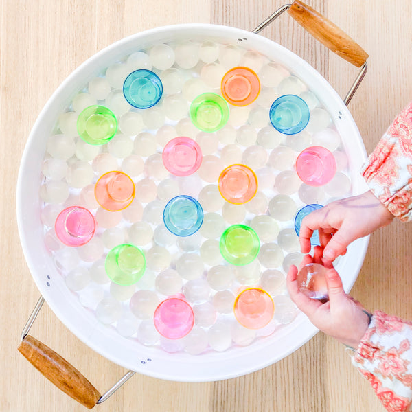 Water Beads - 2 Sizes - Tiny Paper Co. - Tiny Paper Co. Afterpay Toy Store Australia