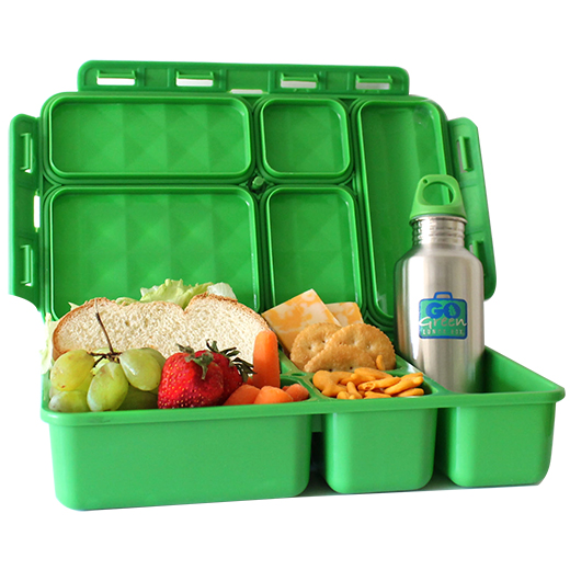 Go Green Lunchbox and Drink Bottle - Go Green - Tiny Paper Co. Afterpay Toy Store Australia