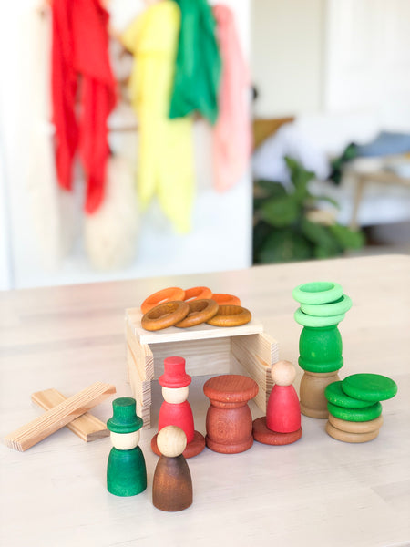 Grapat Nins Seasons - Autumn, Winter, Spring and Summer - Grapat - Tiny Paper Co. Afterpay Toy Store Australia