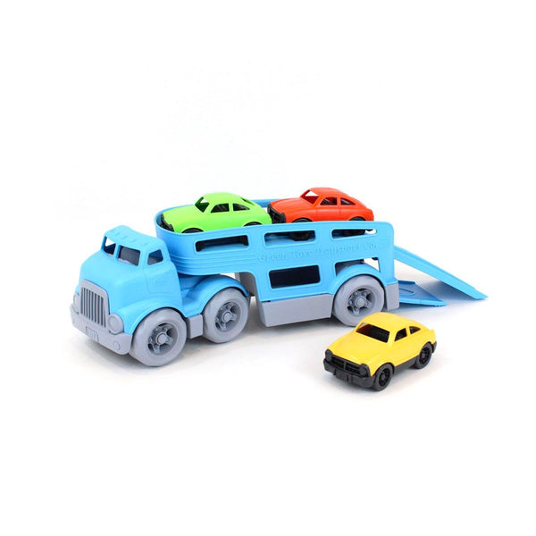 Car Carrier - Green Toys - Tiny Paper Co. Afterpay Toy Store Australia