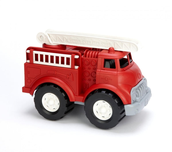 Fire Truck - Green Toys - Tiny Paper Co. Afterpay Toy Store Australia