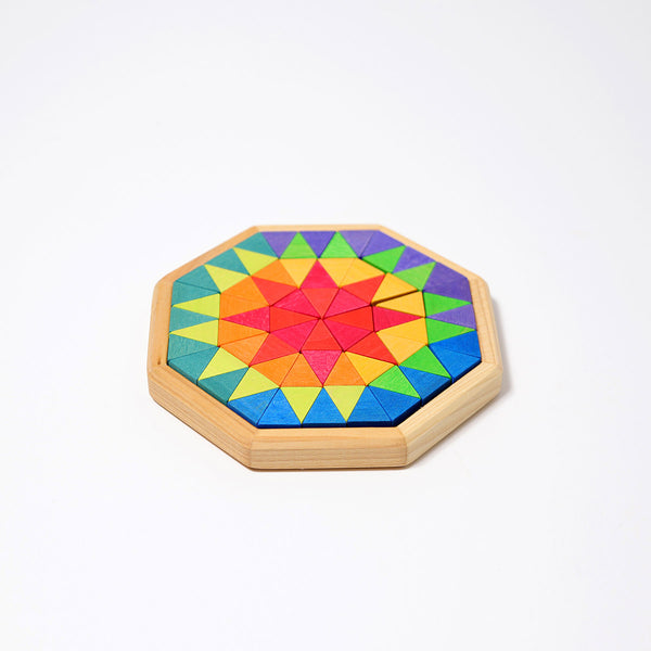 Grimm's Mini Octagon 72pc - Grimm's Spiel and Holz - Tiny Paper Co. Afterpay Toy Store Australia