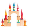 Grimm's Bobbins Rainbow - Large and Small - Grimms - Tiny Paper Co. Afterpay Toy Store Australia