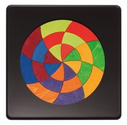 Grimm's Mini Goeth Colour Circle 24 pieces - Grimm's Spiel and Holz - Tiny Paper Co. Afterpay Toy Store Australia