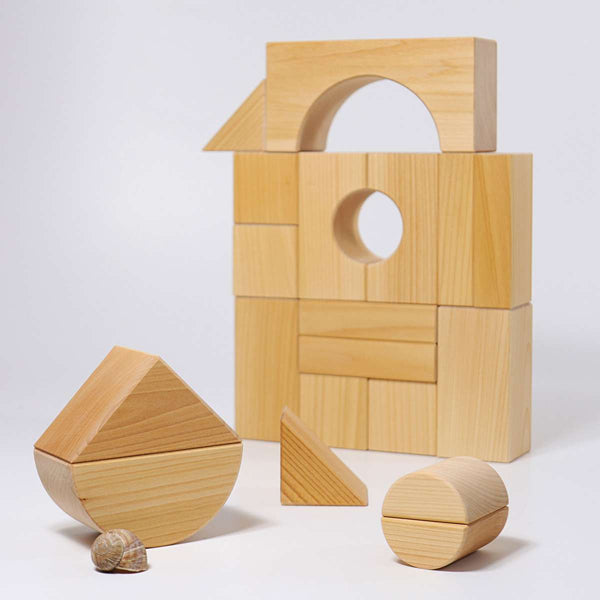 Grimms Giant Building Blocks - Grimm's Spiel and Holz - Tiny Paper Co. Afterpay Toy Store Australia