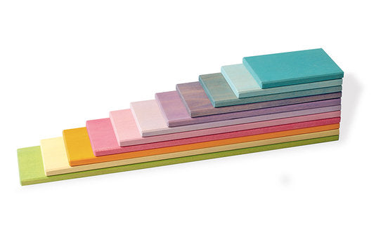 Grimm's Building Boards - Various Colours - Grimms - Tiny Paper Co. Afterpay Toy Store Australia