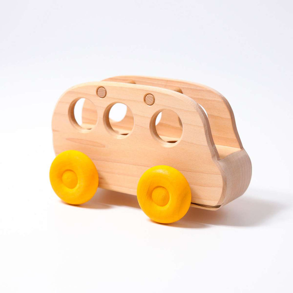 Grimm's Bus - Grimm's Spiel and Holz - Tiny Paper Co. Afterpay Toy Store Australia