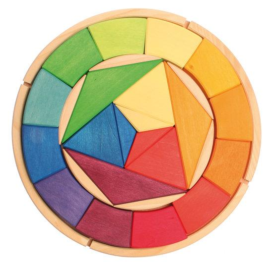 Grimm's Colour Circle Itten - Grimms - Tiny Paper Co. Afterpay Toy Store Australia