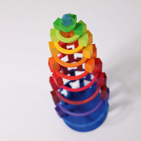 Grimms Concentric Circles - Grimm's Spiel and Holz - Tiny Paper Co. Afterpay Toy Store Australia