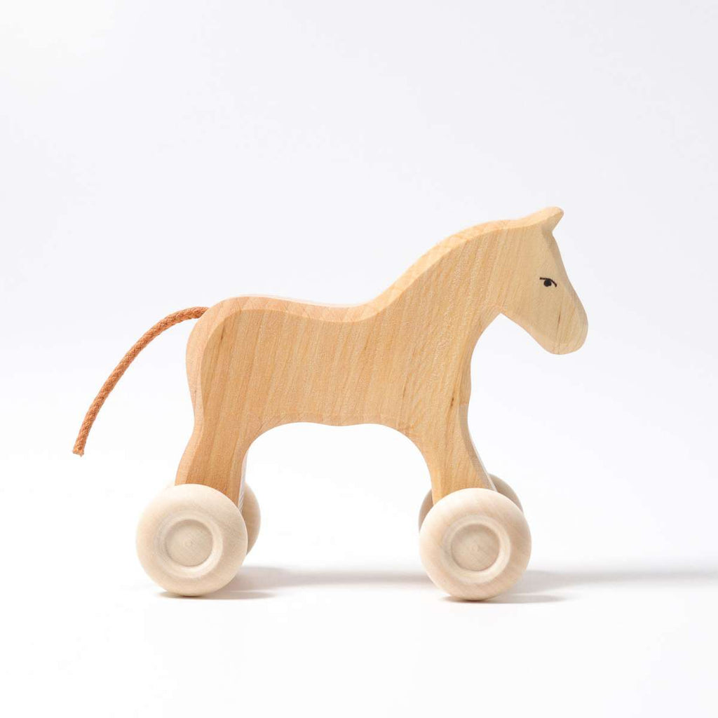 Grimm's Horse Pony Filou - Grimm's Spiel and Holz - Tiny Paper Co. Afterpay Toy Store Australia