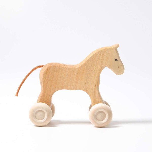 Grimm's Horse - Grimm's Spiel and Holz - Tiny Paper Co. Afterpay Toy Store Australia
