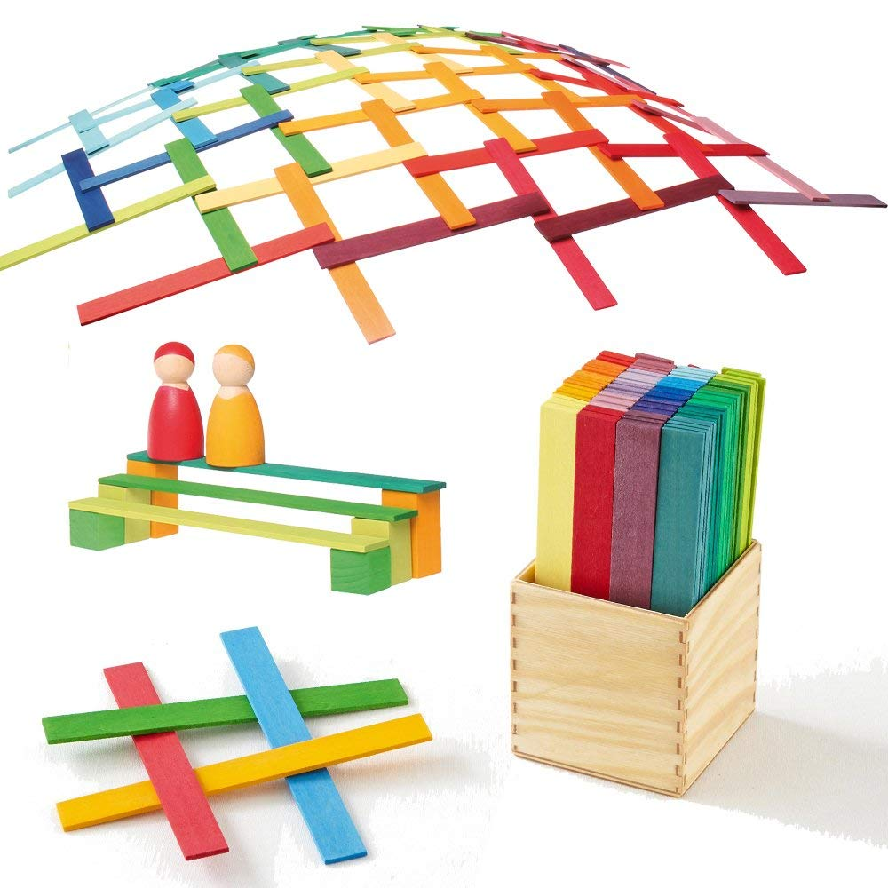 Grimm's Leonardo Sticks - Various Colours - Grimms - Tiny Paper Co. Afterpay Toy Store Australia
