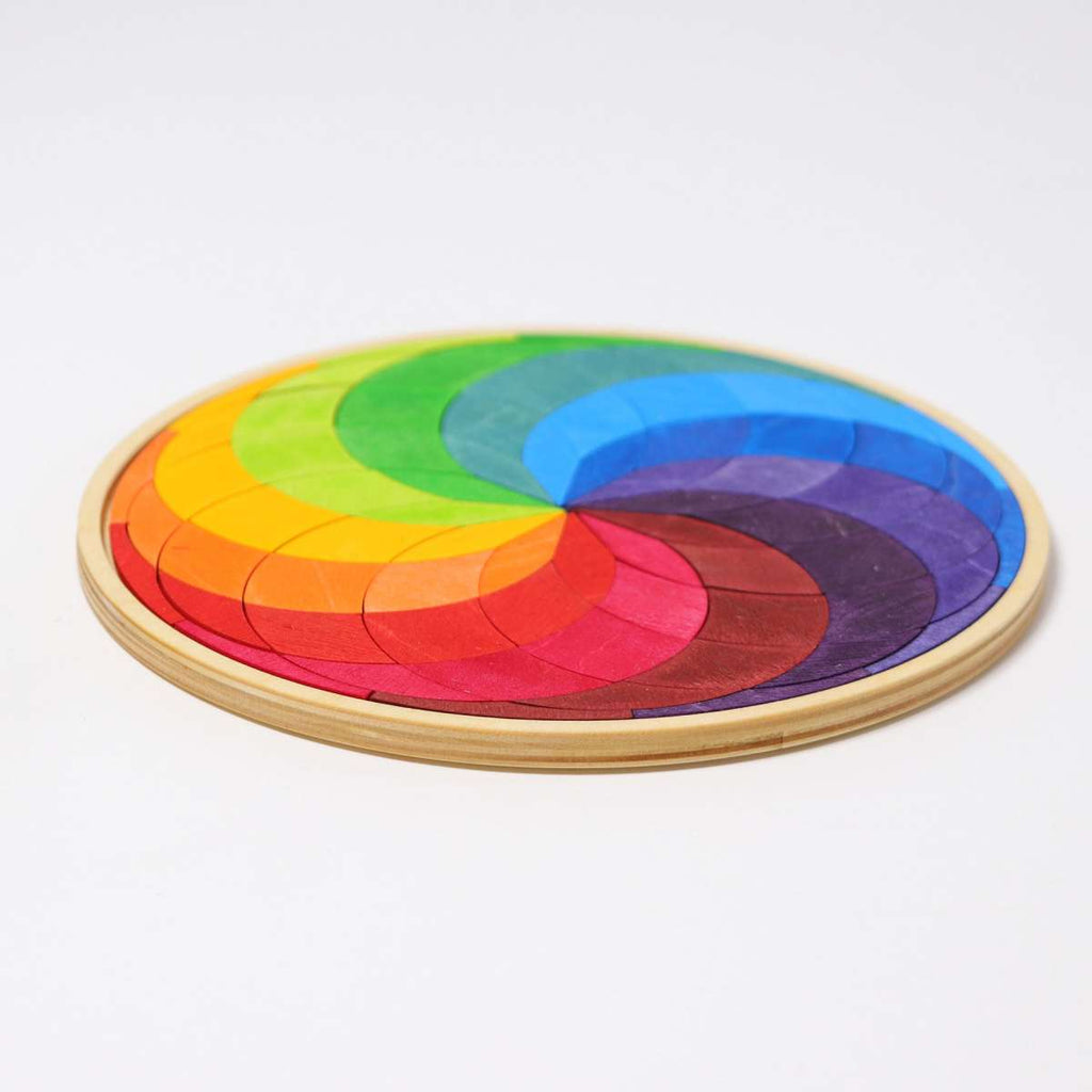 Grimm's Mini Colour Spiral - Grimm's Spiel and Holz - Tiny Paper Co. Afterpay Toy Store Australia