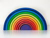 Grimm's Inverted Sunset Rainbow 10pcs - Grimms - Tiny Paper Co. Afterpay Toy Store Australia