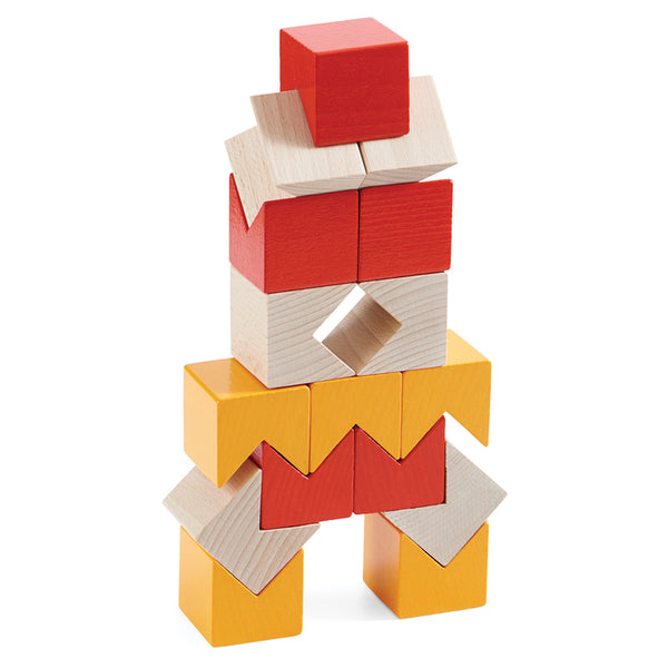 HABA 3D Rubius Wooden Blocks - Haba - Tiny Paper Co. Afterpay Toy Store Australia